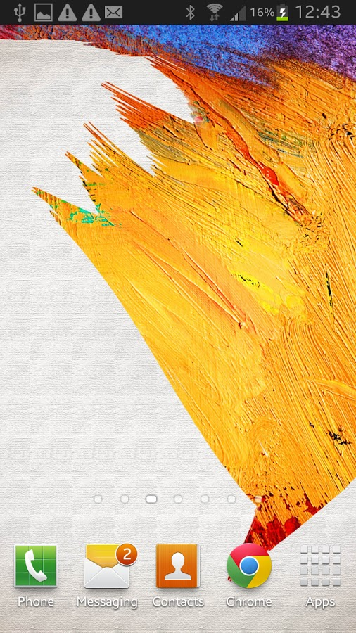 Galaxy Note 3 Live Wallpaper v1.0