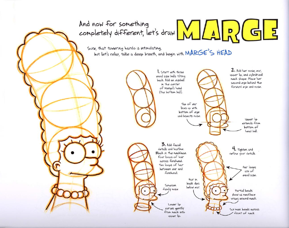 The Simpsons Handbook [Manual de Dibujo]