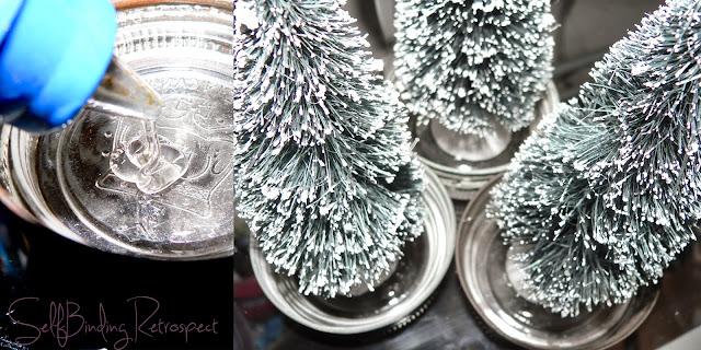 mason jar craft, mason jar, maon jar christmas trees, mason jar christmas, christmas craft