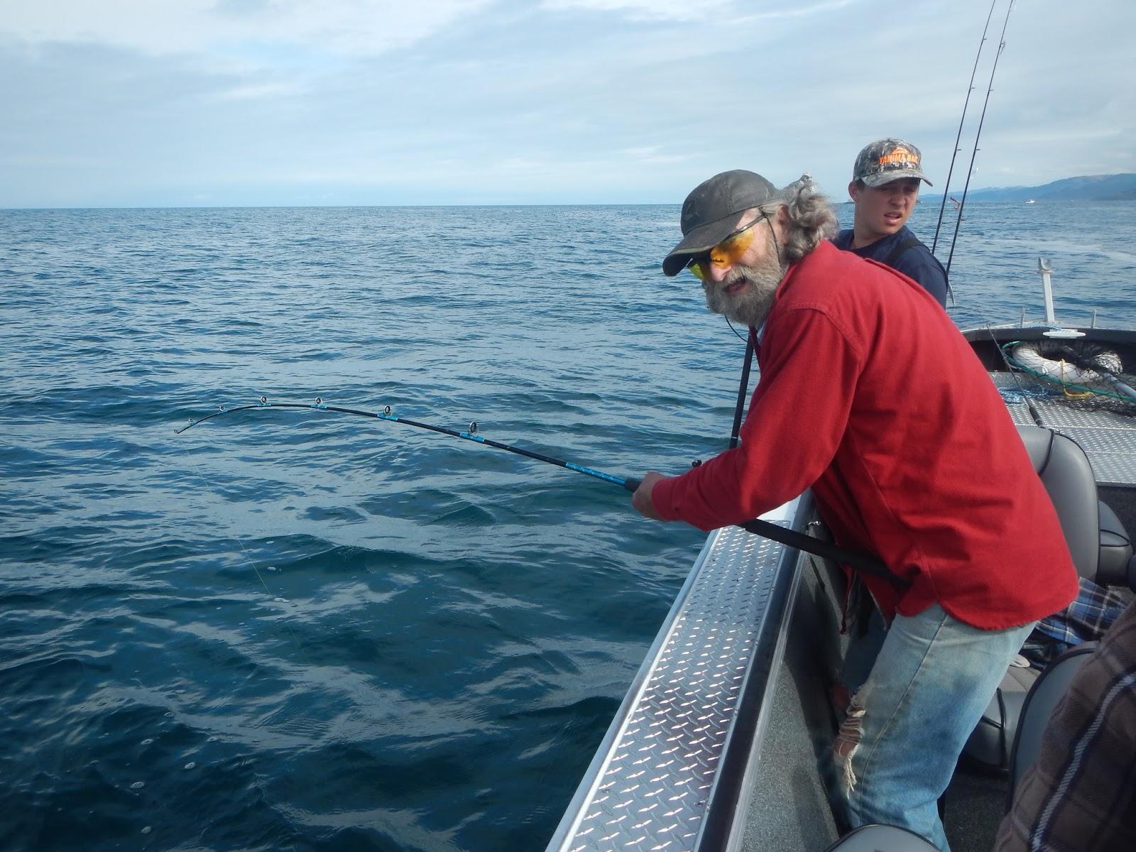 Brookings oregon fishing charters brookings ocean for Ocean fishing oregon