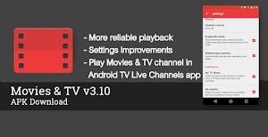Google Pushed Play Movies App Update With Play Movies & TV channel in Android TV Live Channels app : Download APK