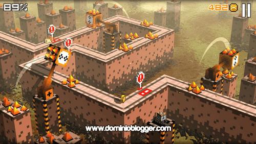 Cliffy Jump el fabuloso juego en 3D gratis para Android