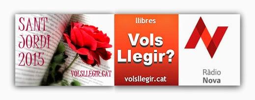 'VOLS LLEGIR?' ESPECIAL ST. JORDI 2015 AUTORS/ES ANOIA