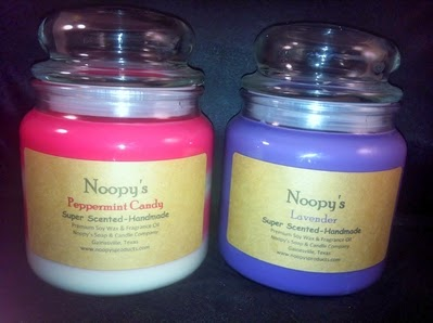 16 oz soy wax candles