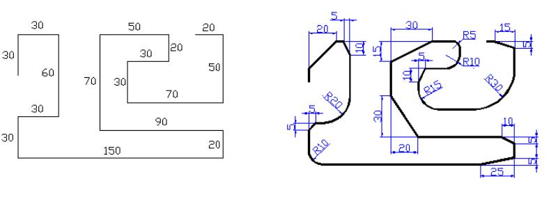 Dibujo ii actividad 3 chaflan y empalme - Muebles el chaflan ...