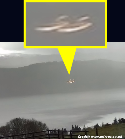UFO Spotted Over Loch Ness