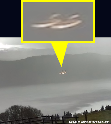 Mystery Of Loch Ness UFO Photo Deepens