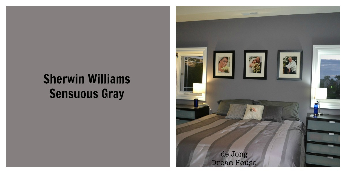 De jong dream house paint tour for Sherwin williams lavender gray