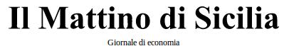 Italicum.it su Il Mattino di Sicilia....