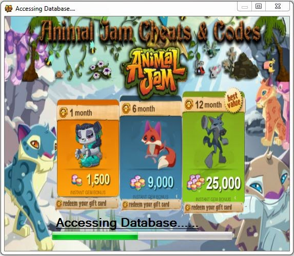 Animal Jam cheats