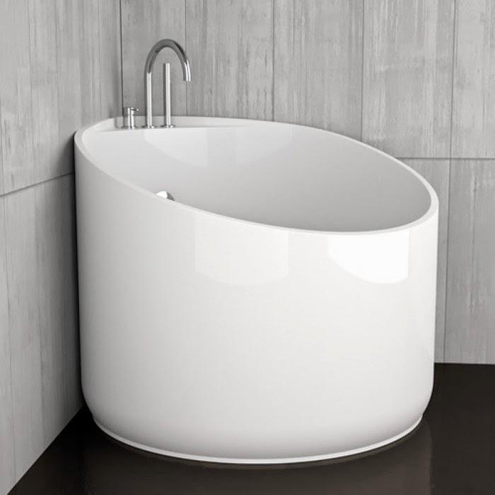 Ceramiche appia nuova vasca quante soluzione per un bagno di piacere - Vasca da bagno rotonda ...