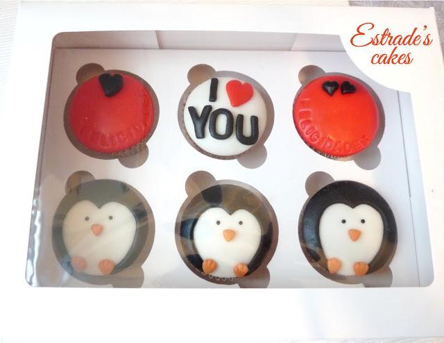 cupcakes de felicitación con fondant - 03