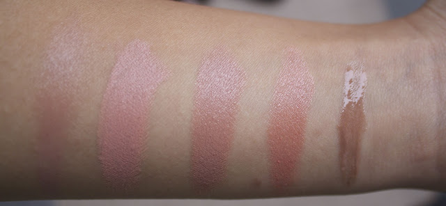 my favourite nude lipsticks lip glosses from mac for olive skin tan swatches