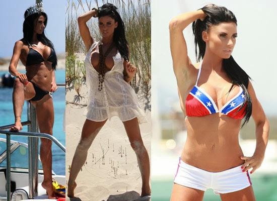Going Topless Bikini PhotoShoot with Katie Price aka Jordan Video 2013 Watch Online HD