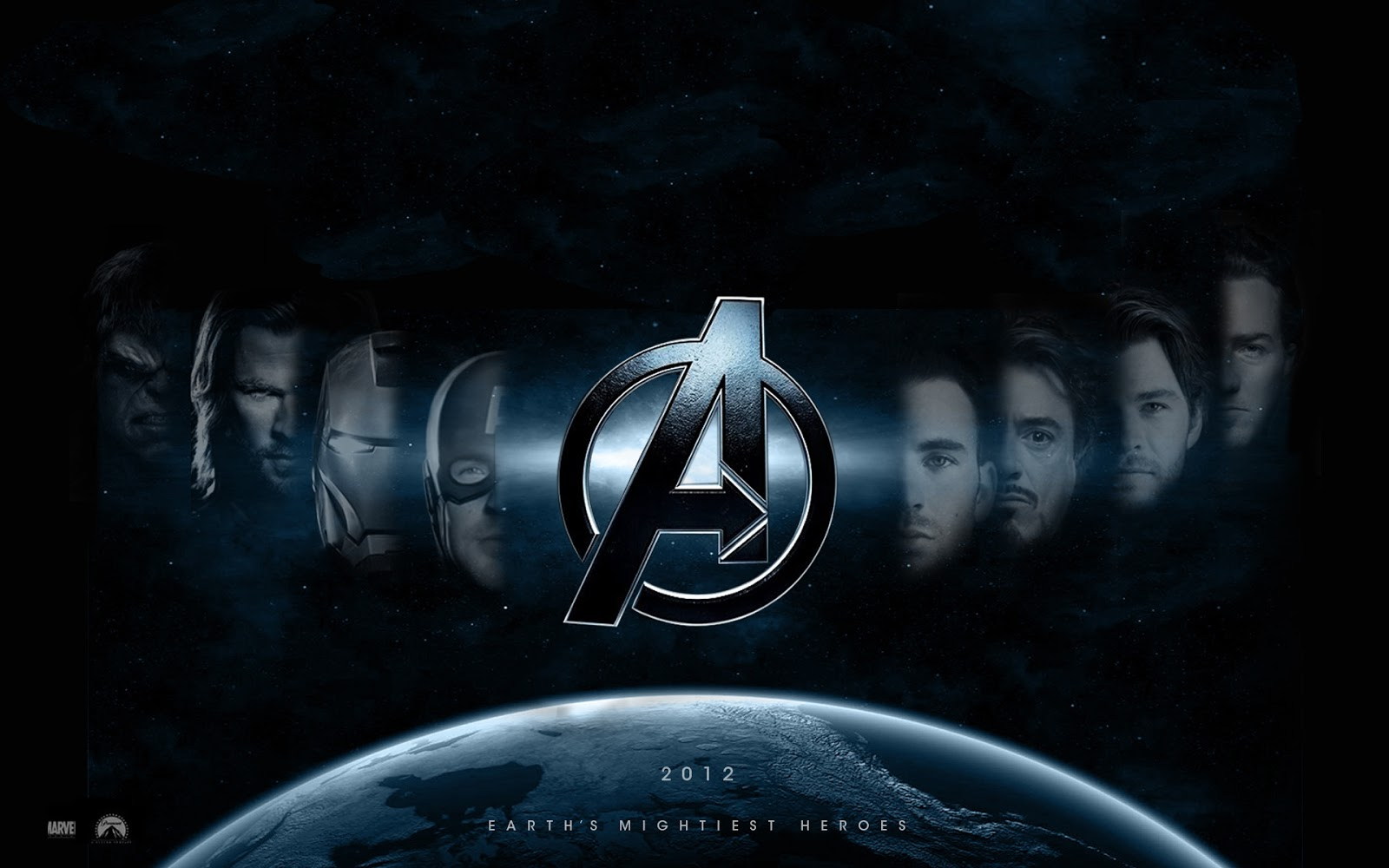 Awesome Avengers Team Wallpaper HD