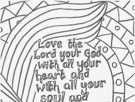 Christian Cross Coloring Pages Adult