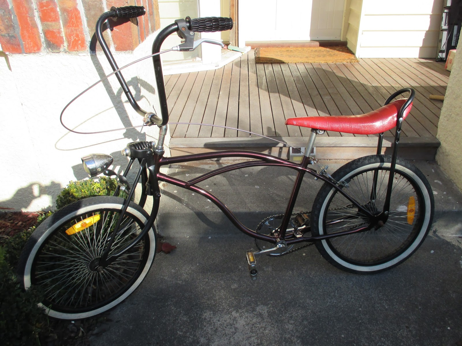Dragster Lowrider Custom Bike For Sale. Just completed. Rat Rod look ...