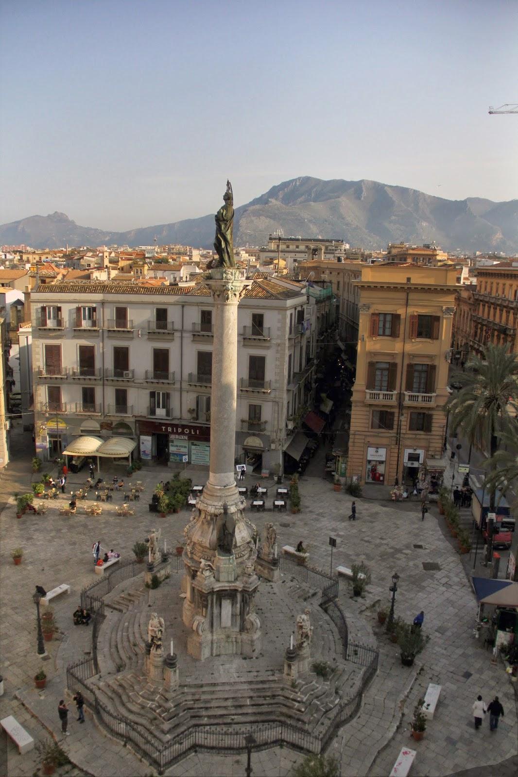 Piazza San Domenico, Palermo   sicilia sicilia