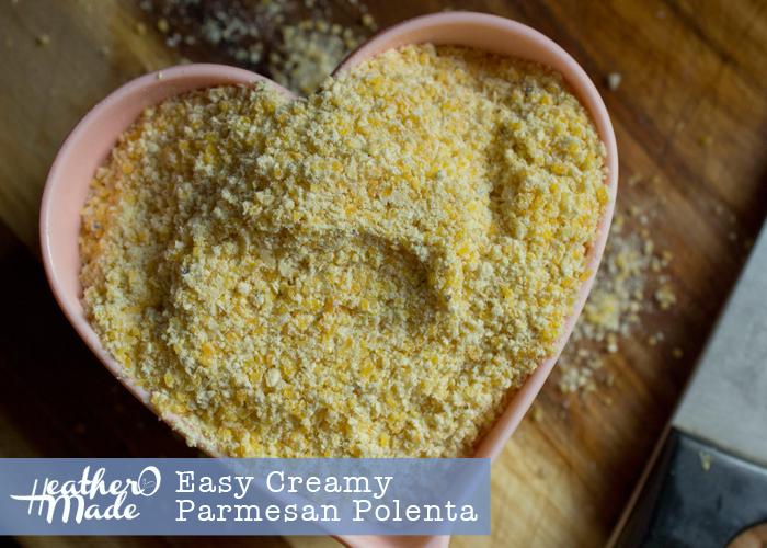 Easy Creamy Parmesan Polenta recipe