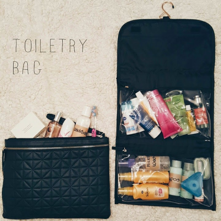 What's In My Travel Toiletry Bag