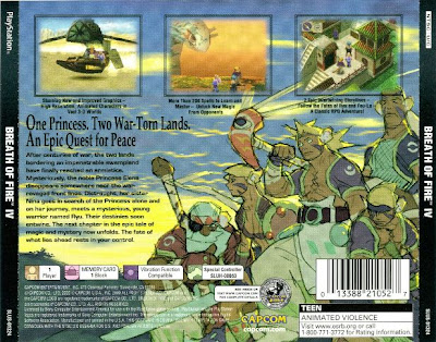 Breath of Fire IV Bahasa Indonesia Back Cover