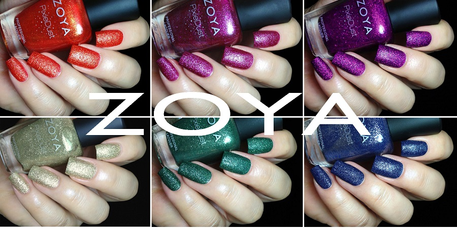 Fashion Polish Zoya Pixie Dust Fall 2013 Collection Review