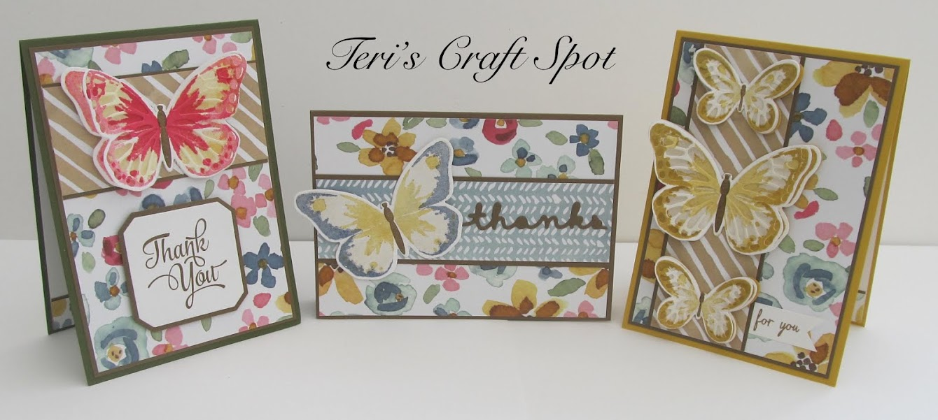 Stampin' Up! UK Demonstrator - Teri Pocock