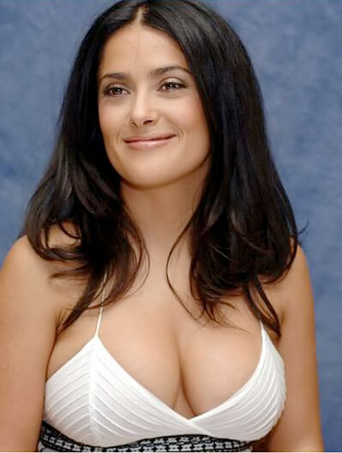 Salma hayek stripper huge fake boobs