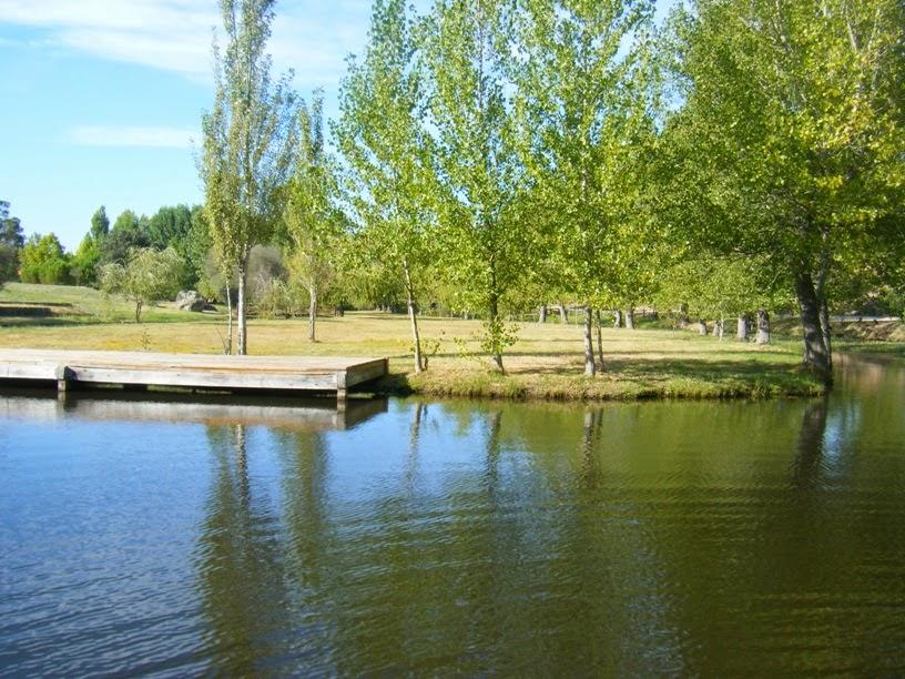 Plataforma na Lagoa da Ribeira da Venda