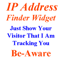 How To Add IP address widget In Blogger Website