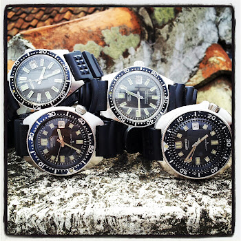 My fav Seiko divers Vintage