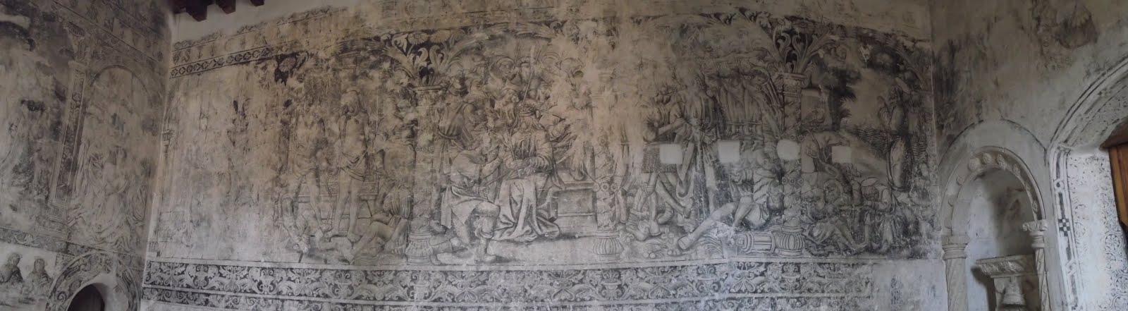 Epazoyucan, Mor. Interior del convento.