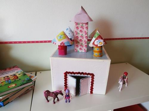 Ritterburg DIY Basteln Kinder