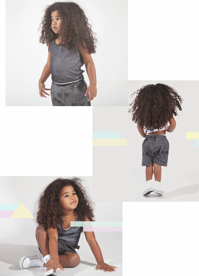 Tale of Boy edgy kids style from UK - sculls