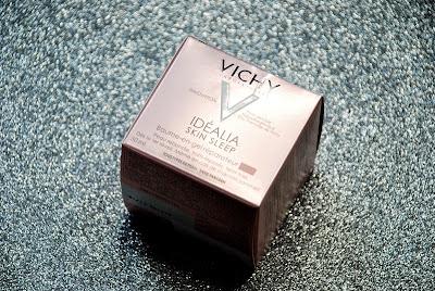 Vichy Idealia Skin Sleep. Regenerujący balsam w żelu na noc.