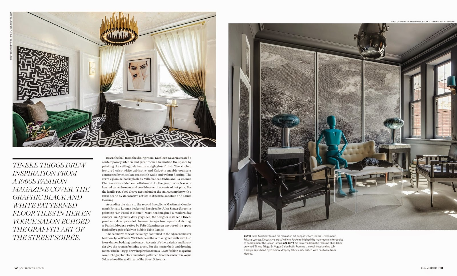 Presidio Heights Tudor Goes Modern California Homes Magazine Summer 2015