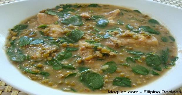 Ginisang Munggo (Sautéed Mung Beans)