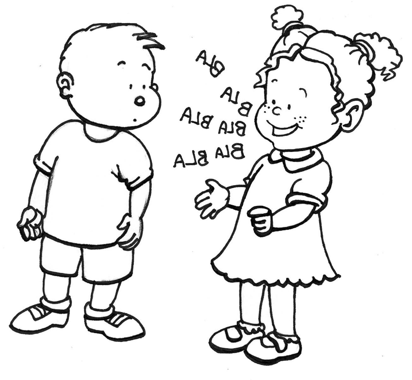 school children coloring pages - photo#20
