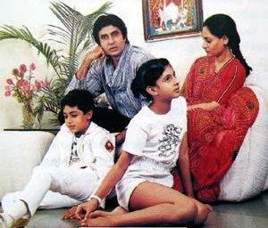 Amitabh Bachan Family Pictures Dulha Amp Dulhan