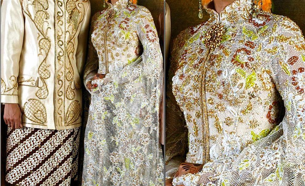 baju batik pernikahan 2015