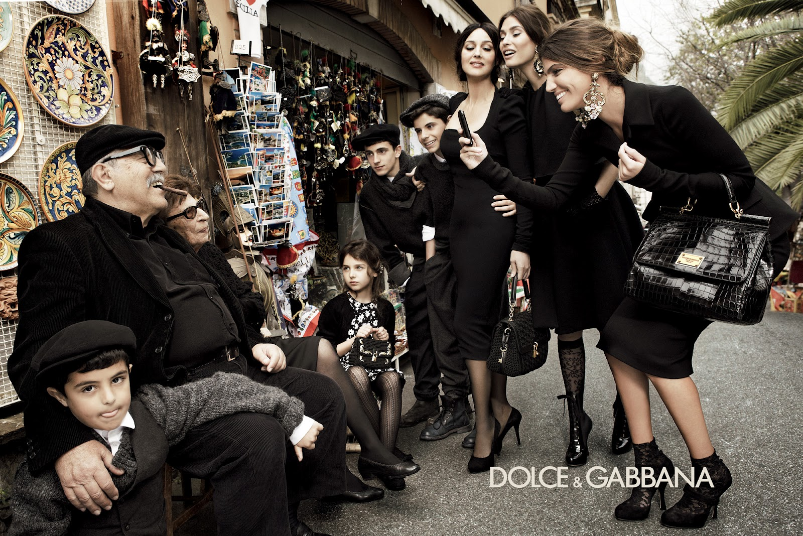 Dolce and Gabbana Ad
