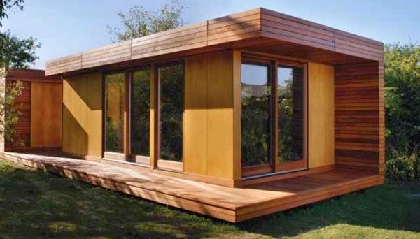 Fachadas de casas peque as fotos e im genes de casas for Casas de madera baratas pequenas