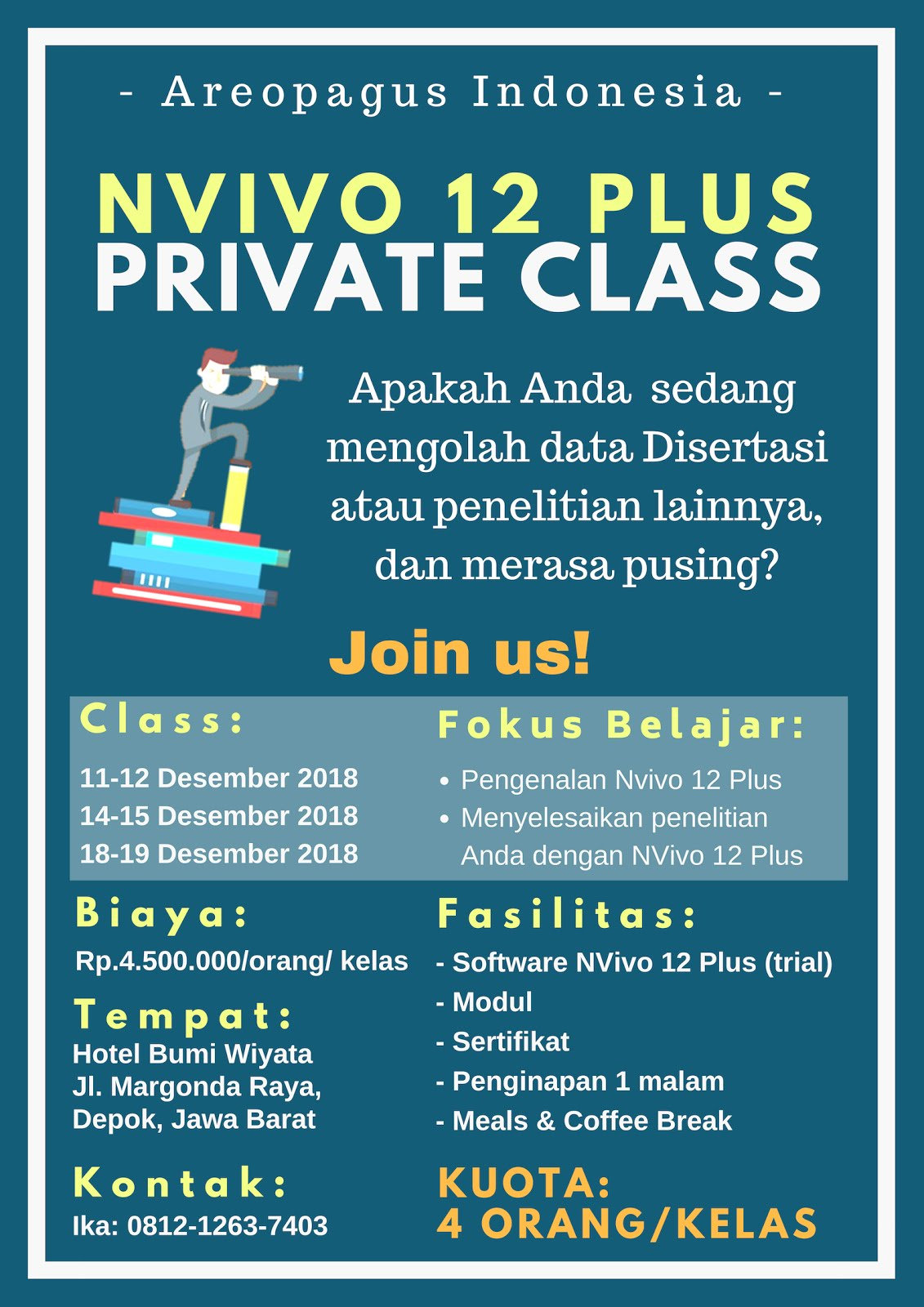 NVIVO 12 PLUS PRIVATE CLASS