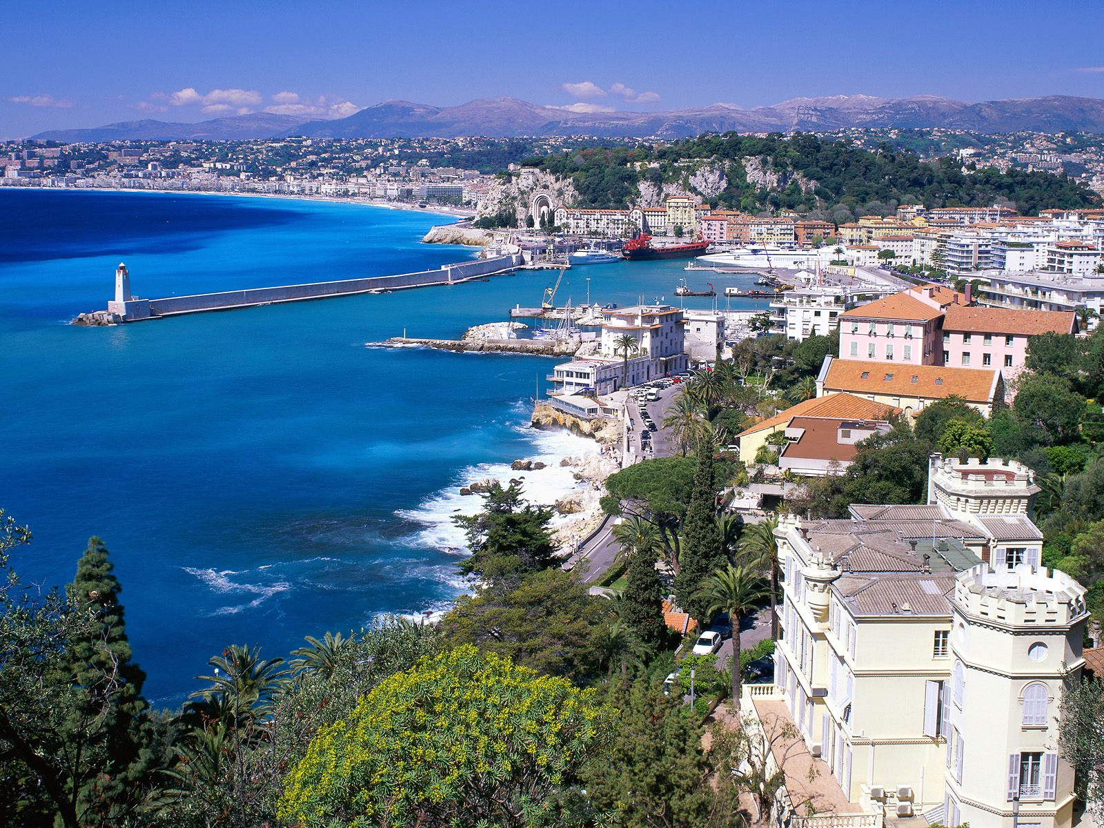 Nice france travel guide and travel info