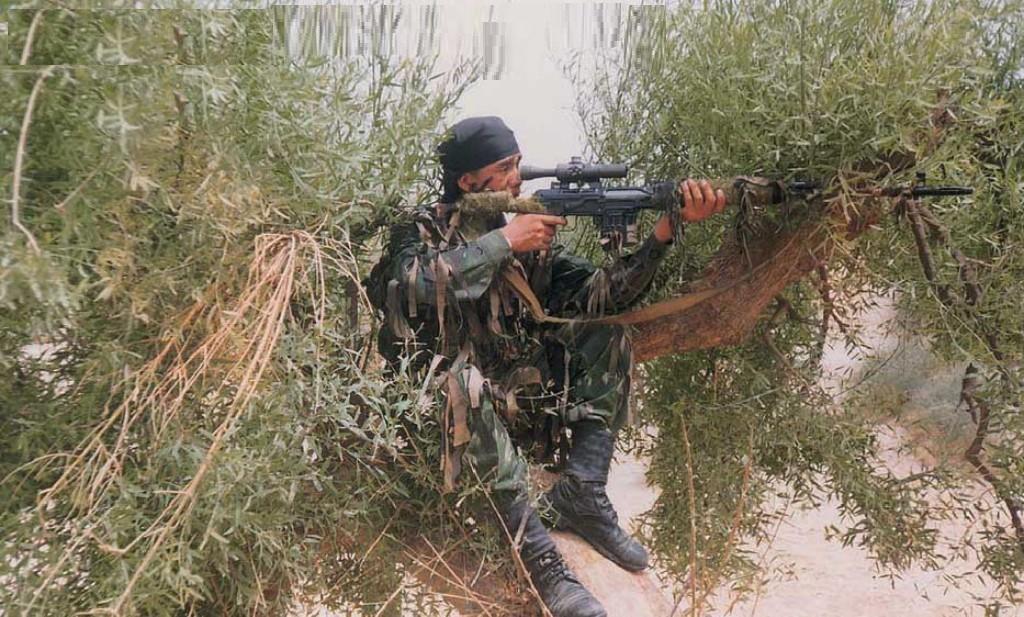 El arsenal de los francotiradores del ejercito Ruso