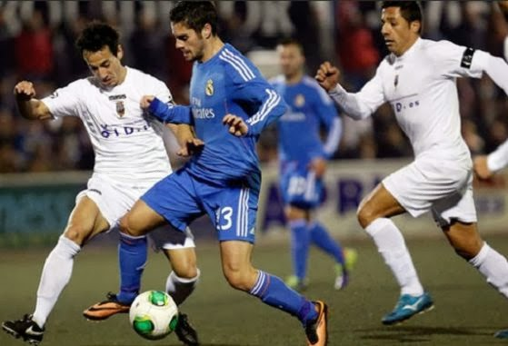 Real Madrid vs Olimpic de Xativa second leg Copa del Rey