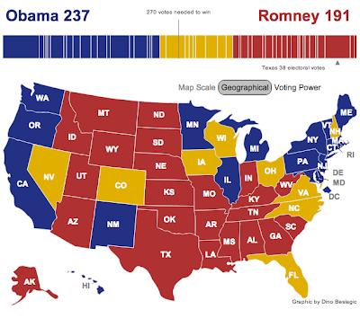 ၂၀၁၂ ႏိုု၀င္ဘာ အေမရိကန္ေရြးေကာက္ပြဲ အတိုုအထြာ  (TheGeek)