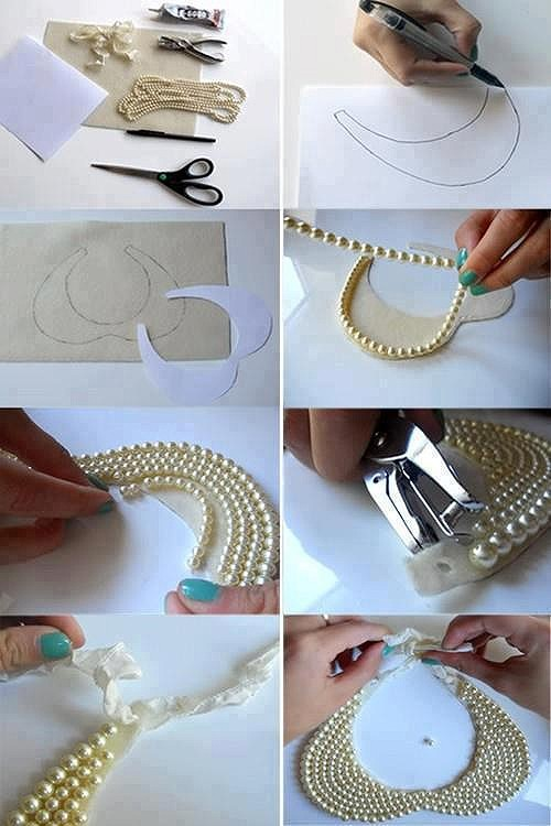how to make easy jewellery at home