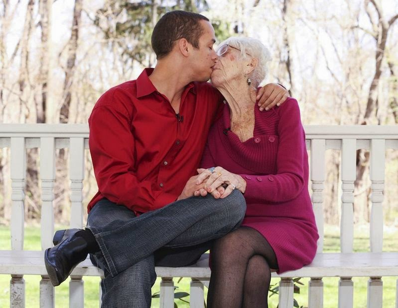 A 31-year-old Guy Has A 91-year-old Girlfriend: Shares Their Sexlife