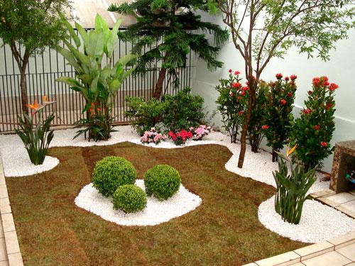 Casa decora o jardim e paisagismo - Antejardines pequenos fotos ...